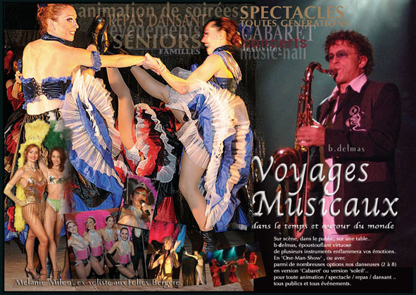 spectacle musical danseuses cabaret